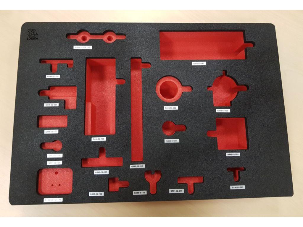 Termoformati vuoti per utensili in materiale espanso